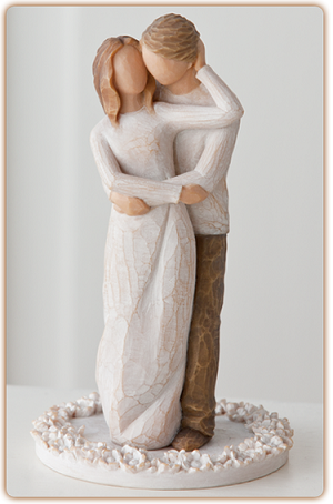 Willow Tree TOGETHER - Cake Topper Sculpture