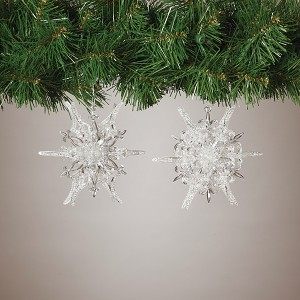2014 Snowflakes,  Dimensional set of 2