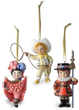 2001 It's A Small World After All, Set of 3, Club - RARE