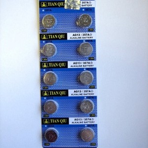 LR44 Alkaline Cell Batteries, 10 Pack - Correct size for most 2004-13 orns