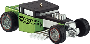2013 Hot Wheels Bone Shaker - Carlton Ornament