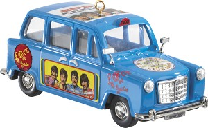 2013 Beatles #2 Let It Be Taxi - Carlton Ornament
