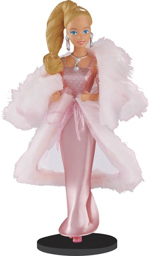 2013 Barbie Vintage Fashion #1 - PINK & PRETTY -  Carlton Ornament