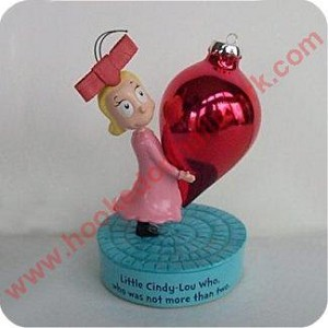 Cindy Lou Who - Dr Seuss Collection Limited Ed Figurine