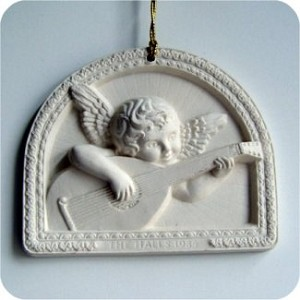 1984 Hall Family Ornament, On Card
