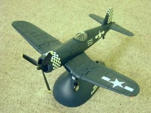 F4U-1D CORSAIR w/ Battery Operated Base - Legends in Flight