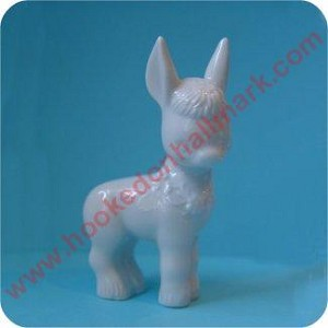 Faithful Donkey, Porcelain Bisque