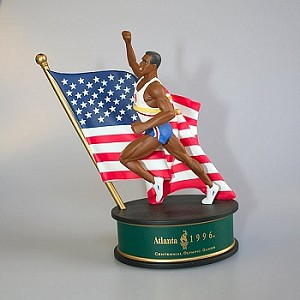 1996 Olympic Spirit, Track and Field Figurine