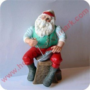 1989 Toymaker #4 - Sailboat from Santa - Figurine