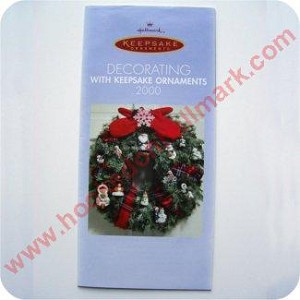 2000 Decorating with Keepsake Ornaments Brochure