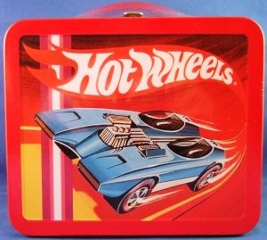 1970s Hot Wheels - School Days Lunchboxes Reproduction