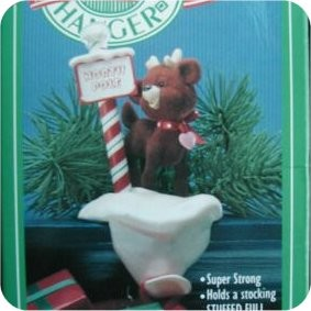 Reindeer Crossing - Stocking Hanger - NB