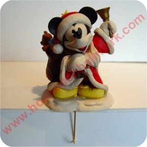 Mickey Mouse Stocking Hanger - Boxed