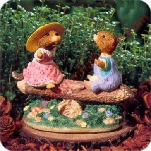Teeter for Two - Tender Touches Figurine