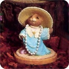In Mom's Easter Bonnet - Tender Touches Figurine