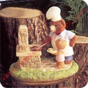 Bears at BBQ - Tender Touches Figurine