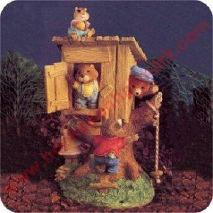 Tree House - Tender Touches Figurine