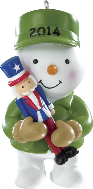 2014 U.S. Armed Forces - Carlton Ornament