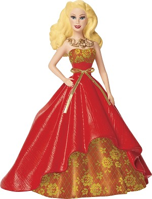 2014 Barbie - Holiday Barbie #2 by Carlton