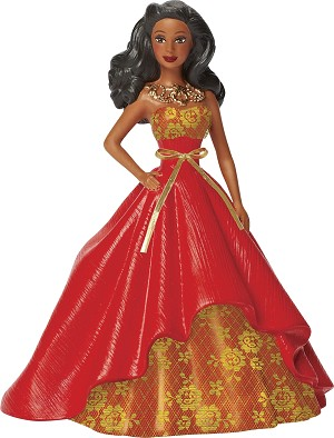 2014 Barbie - Holiday Barbie COLLECTORS VERSION #2 African/Am