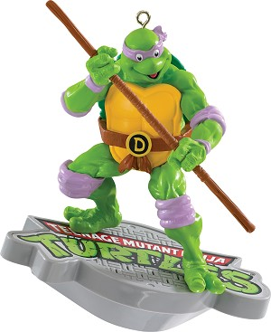 2015 Teenage Mutant Ninja Turtles, Donatello - MAGIC - Carlton Ornament