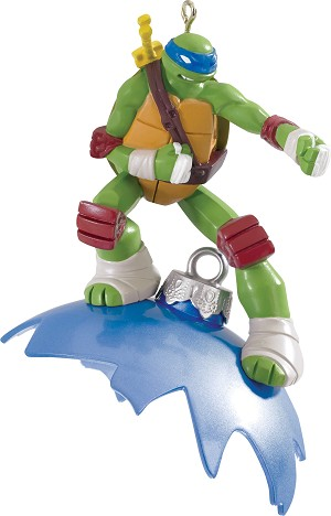 2015 Teenage Mutant Ninja Turtles, Leonardo - Carlton Ornament