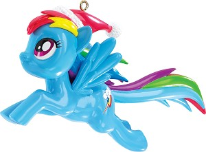 2015 My Little Pony, Rainbow Dash - Carlton Ornament