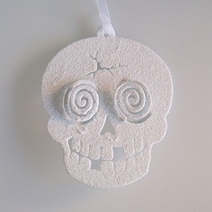2011 Halloween - Skull Ornament