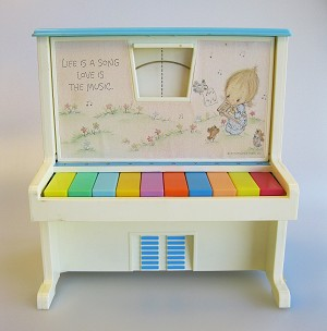 "Betsey Clark ""Learn-To-Play"" Piano"