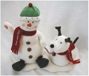 2004 Jingle Pals - Plush Tabletopper