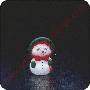 1978 Mrs. Snowman - Merry Miniature