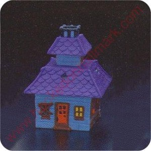 1985 Haunted House - Merry Miniature Container