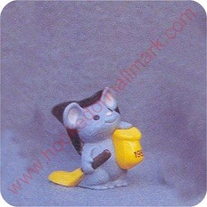 1989 Mouse Witch - Merry Miniature