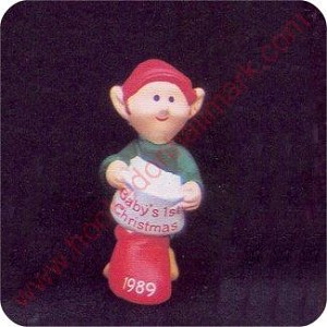 1989 Babys First Christmas - Merry Miniature