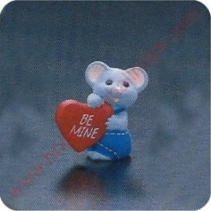 1989 Grey Mouse - Merry Miniature