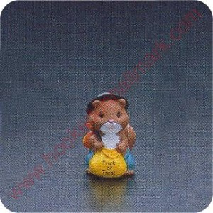 1990 Squirrel Hobo - Merry Miniature