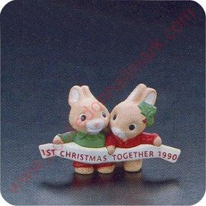 1990 First Christmas Together - Merry Miniature