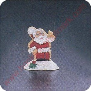 1991 Cookie Santa - Merry Miniature