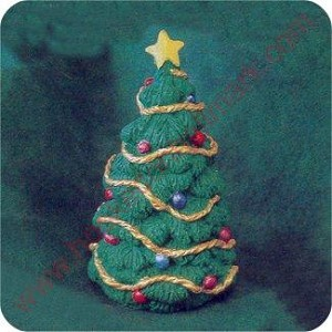 1995 Christmas Tree - Merry Miniature