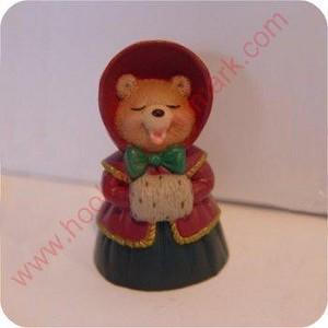 1995 Caroling Bear - Merry Miniature