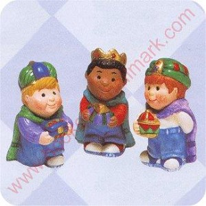 1997 Three Wee Kings - Merry Miniature