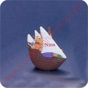 1992 Nina Ship - Merry Miniature