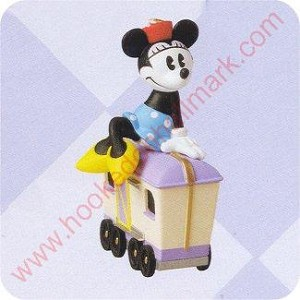 1998 Minnie's Luggage Car - Merry Miniature