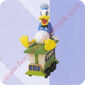 1998 Donald's Passenger Car - Merry Miniature