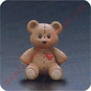 1990 Stitched Teddy - Merry Miniature