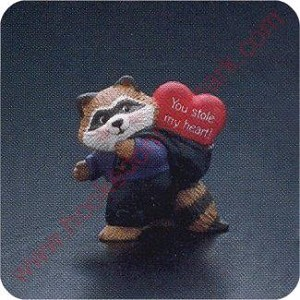 1991 Raccoon Thief - Merry Miniature