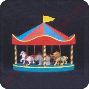 1991 Carousel 6 Piece Set - Merry Miniature