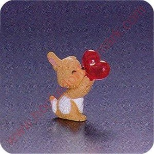 1993 Dog - Valentine Merry Miniature