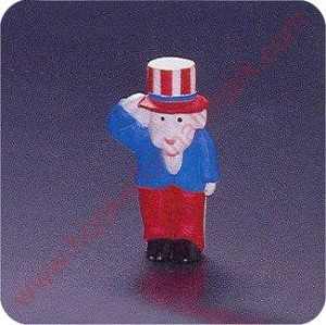 1993 Goat Uncle Sam - Merry Miniature