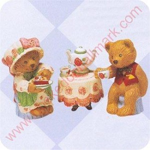 1997 Tea Time Marys Bears - Merry Miniature
